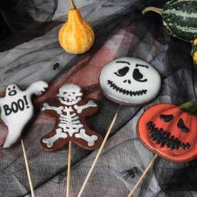 Пряники поштучно на Хеллоуин