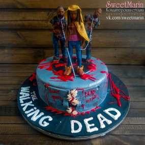 """Торт """"Ходячие мертвецы"""""""