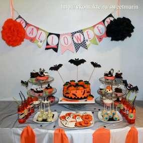 """Сладкий детский стол """"Хэллоуин"""""""