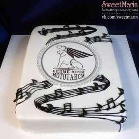 Торт «Белые ночи»