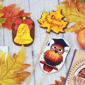 Пряники цветные для любимого учителя в подарок
