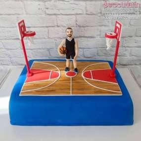 """Торт """"Баскетболист"""""""