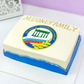 Торт на выпускной для учителей