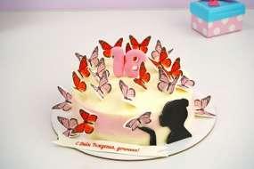"""Торт """"Бабочки"""""""