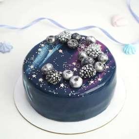 Торт с космосом