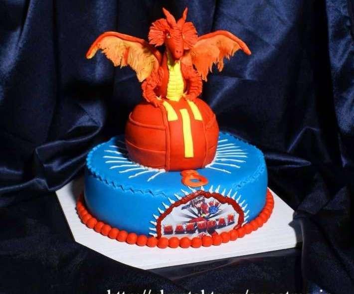 """Торт """"Огненный дракон"""""""