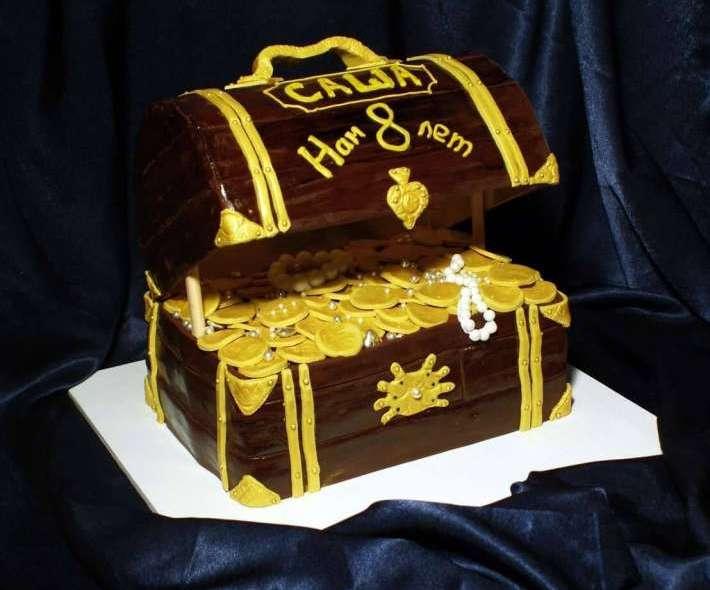 """Торт """"Сундук с золотом"""""""