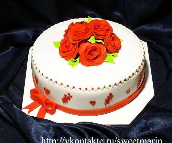 """Торт """"Букет роз"""""""