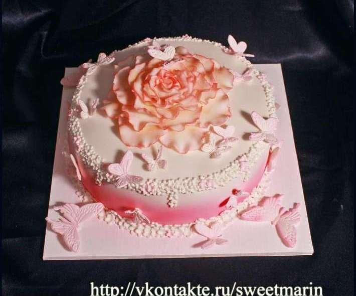 """Торт """"Цветок"""""""