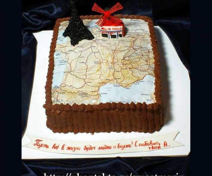 """Торт """"Любителю Франции"""""""