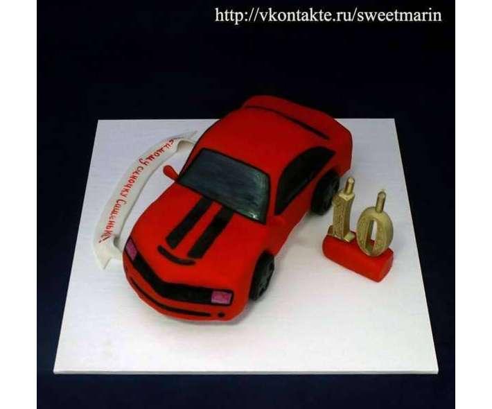 "Торт ""Chevrolet Camaro"""