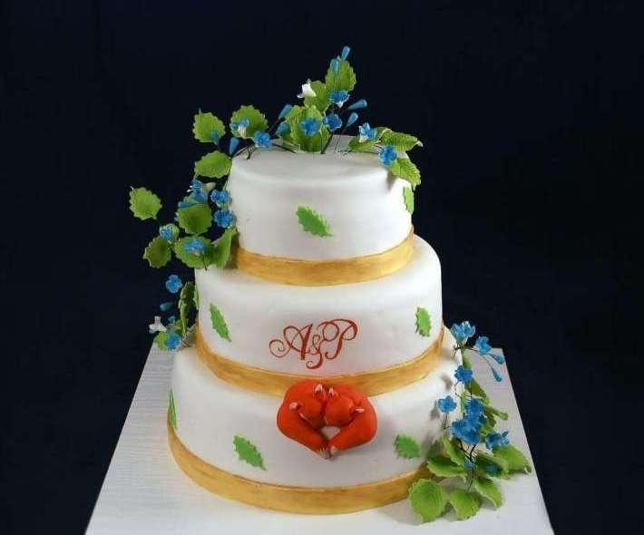"""Торт """"Лисья свадьба"""""""