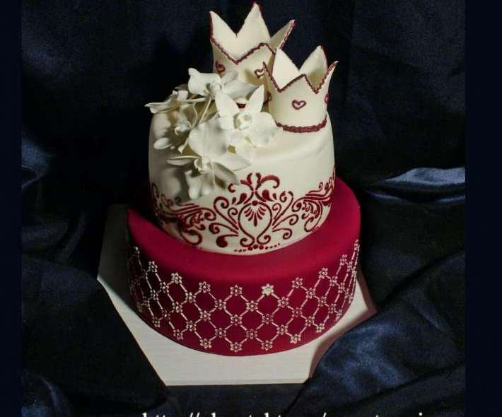 """Торт """"Сказочная свадьба"""""""