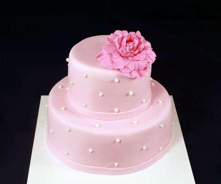"""Торт """"Нежно-розовый"""""""