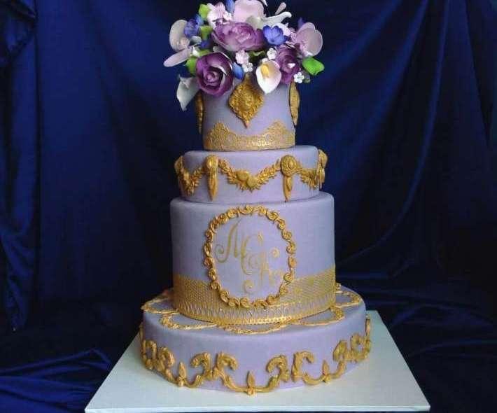 """Торт """"Золотое великолепие"""""""