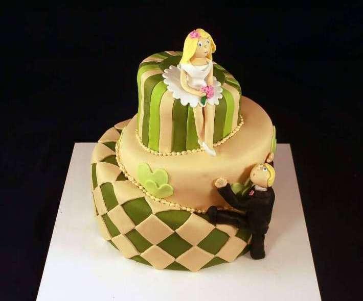 """Торт """"Мята и авокадо"""""""