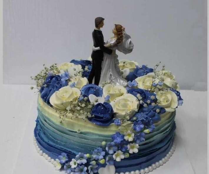 """Торт """"Свадебный танец"""""""