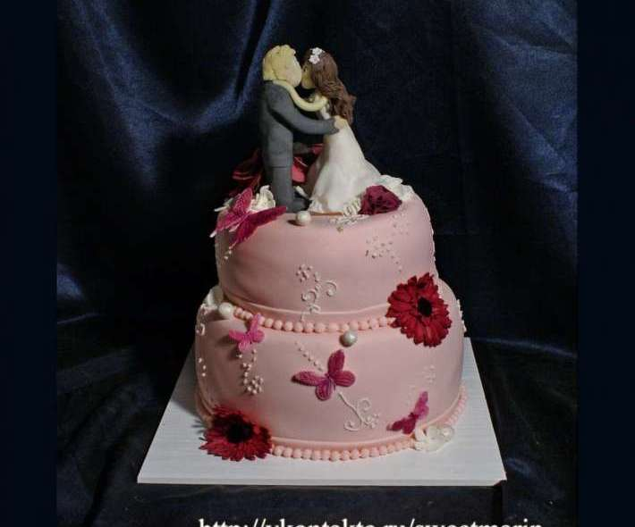 """Торт """"Розовые сны"""""""