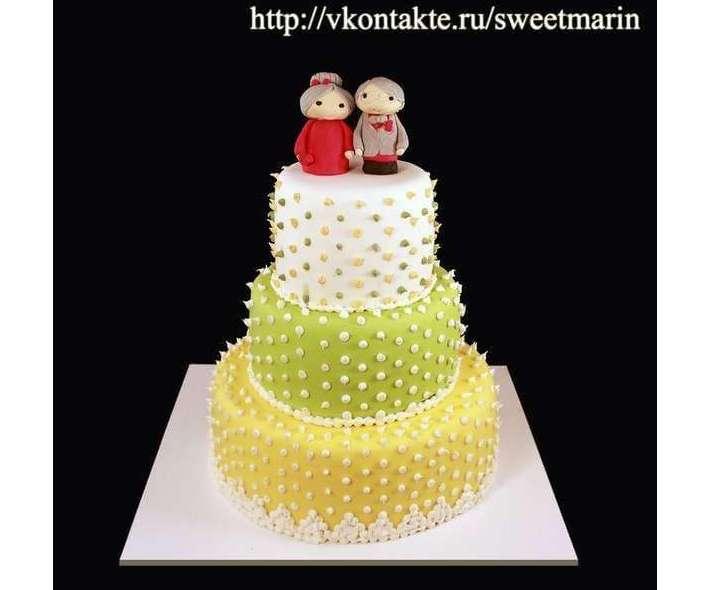 "Торт ""Свадьба аниме"""