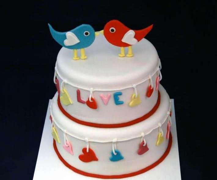 "Торт ""Птички"""