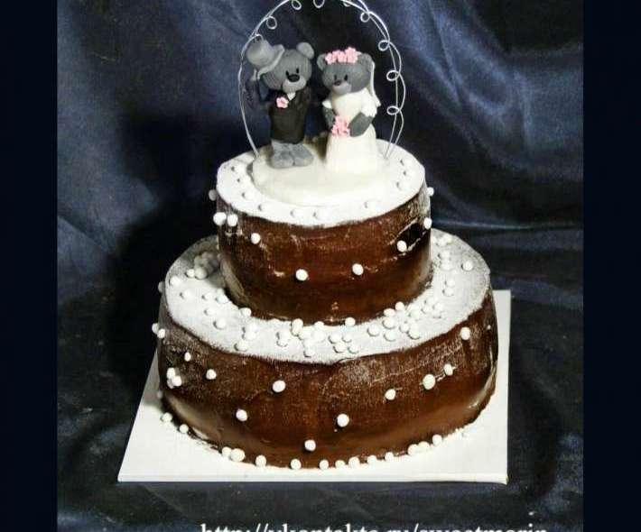 "Торт ""Заснеженный шоколад"""