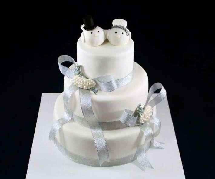 """Торт """"Белые голубки"""""""