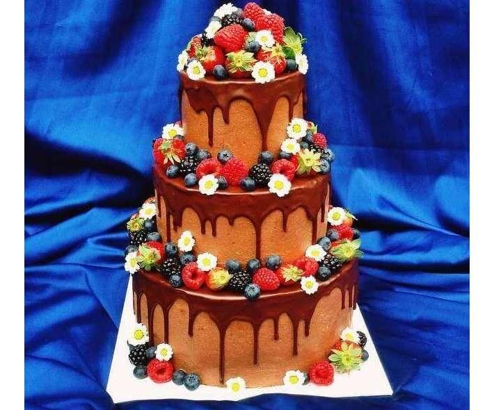 """Торт """"Шоколадное изобилие"""""""