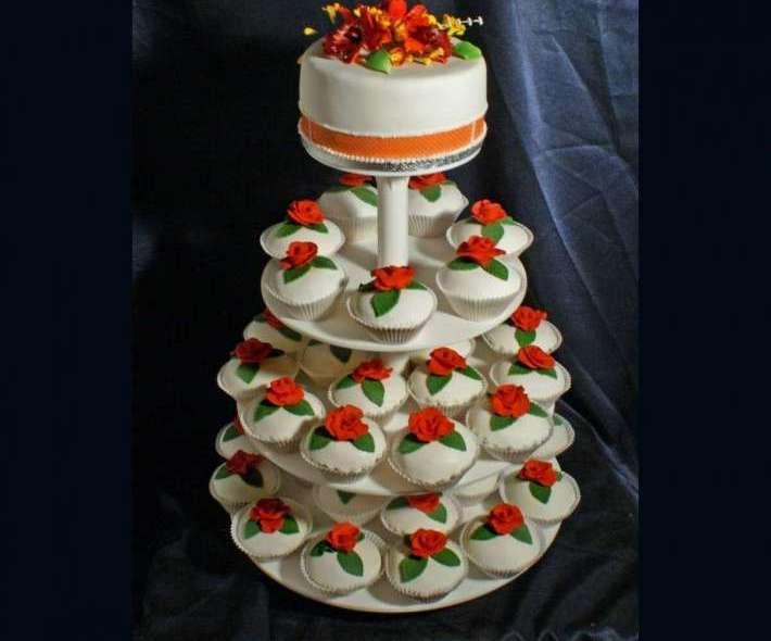 "Торт ""Цветочная симфония"""