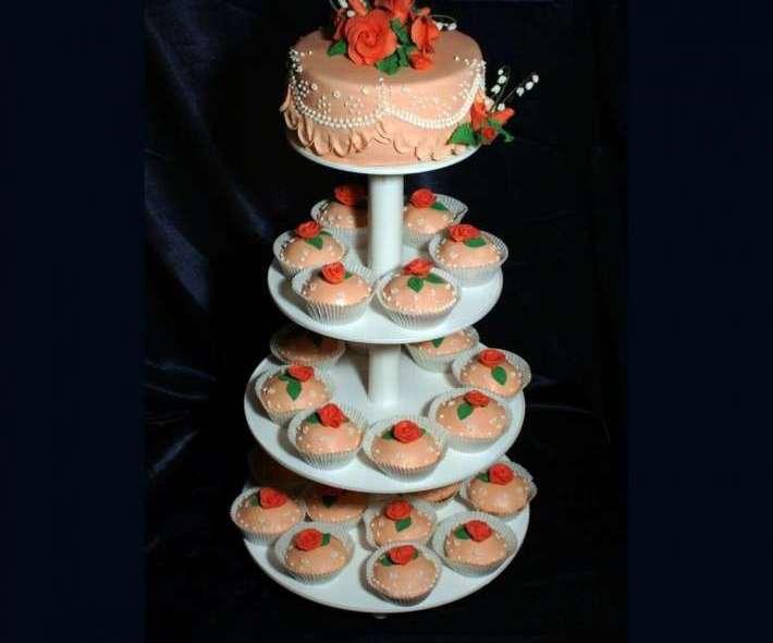 """Торт """"Персиковое облако"""""""
