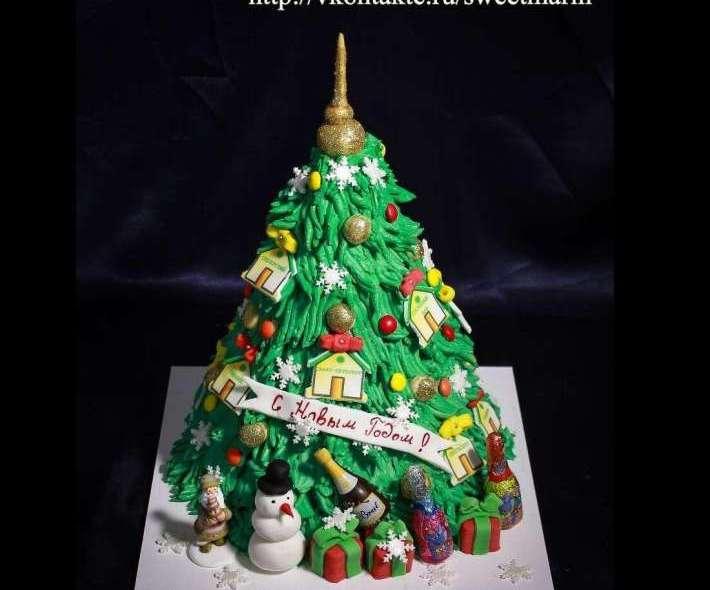 """Торт """"Новогодняя Елка"""""""