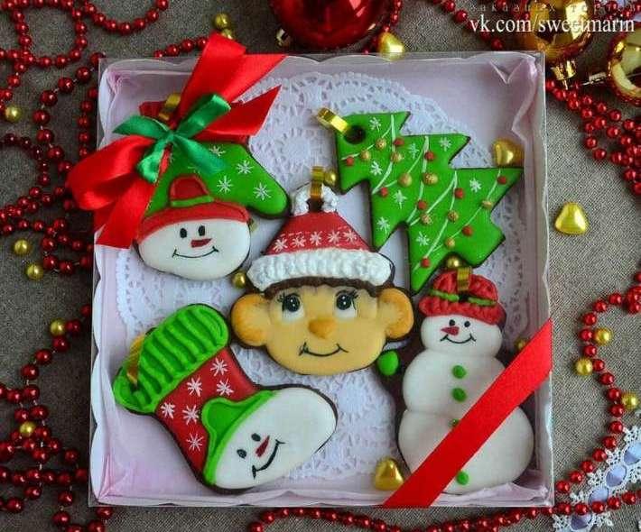Набор пряников новогодний с символом года