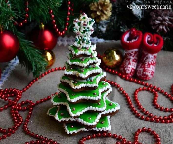 Пряничная елка 3D