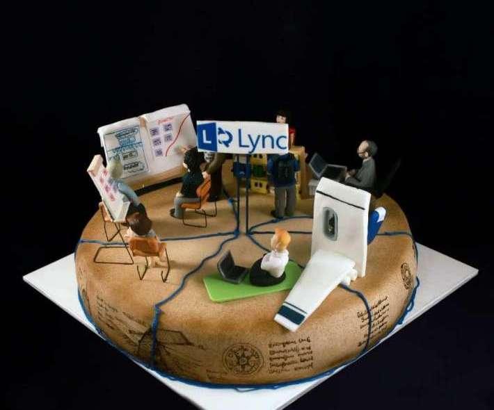 """Торт """"Компания Lync"""""""