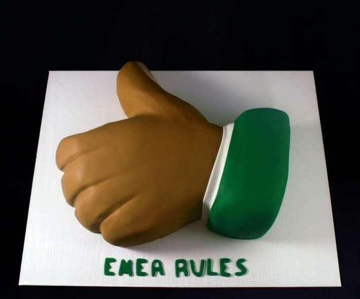"""Торт """"Emea Rules"""""""