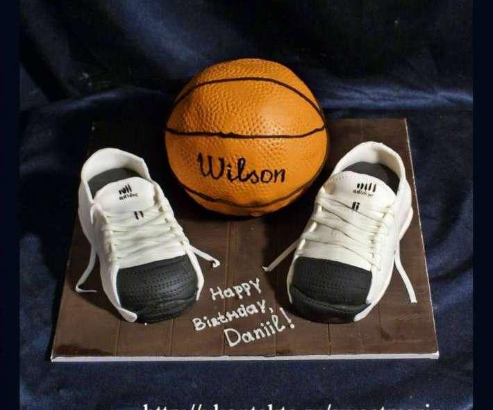 """Торт """"Баскетбол"""""""